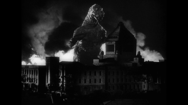 Image result for godzilla 1954 diet building