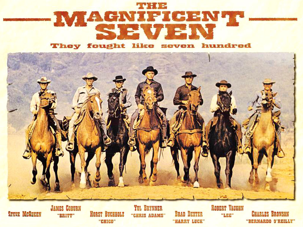 a series of sevens the magnificent seven the noname