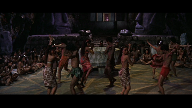 A bunch of Japanese people in blackface. Sometimes these movies are gross.