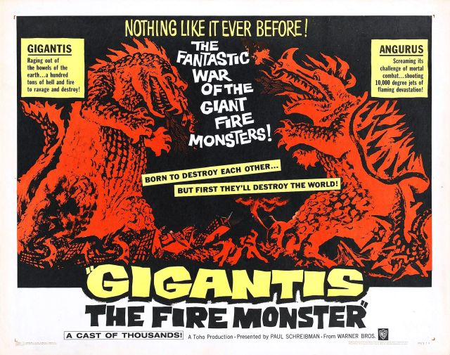 gigantis the fire monster poster