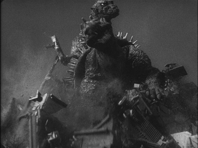 The big, city-destroying monster battle, is still an incredible set of special effects.