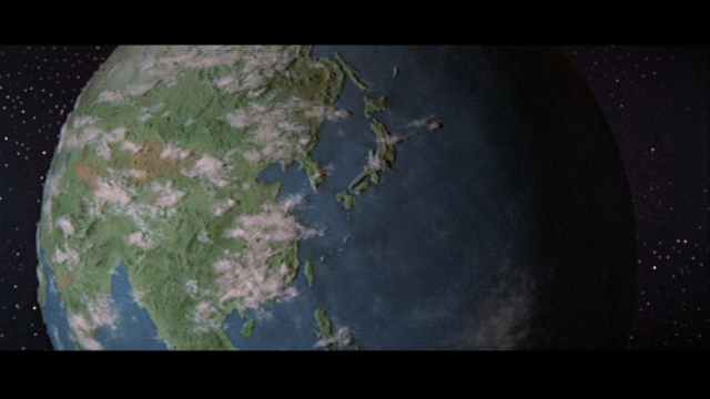 This is probably the coolest Earth model in all of movies.