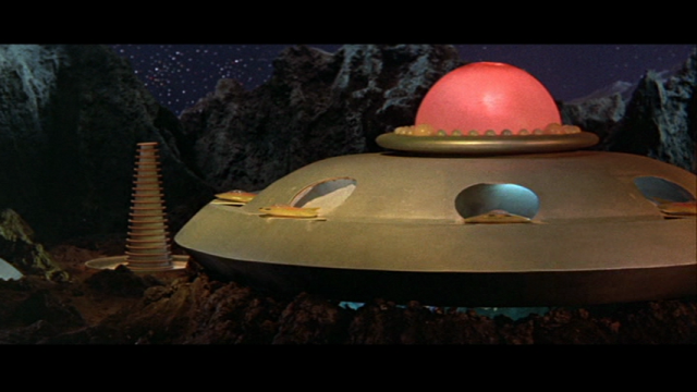 The alien base looks more or less like Pop-o-Matic Trouble.